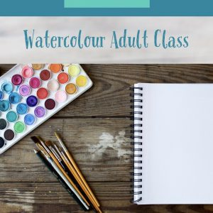 Online Watercolour Adult Class Delivered By Sinead Campbell of The Art And Design Factory