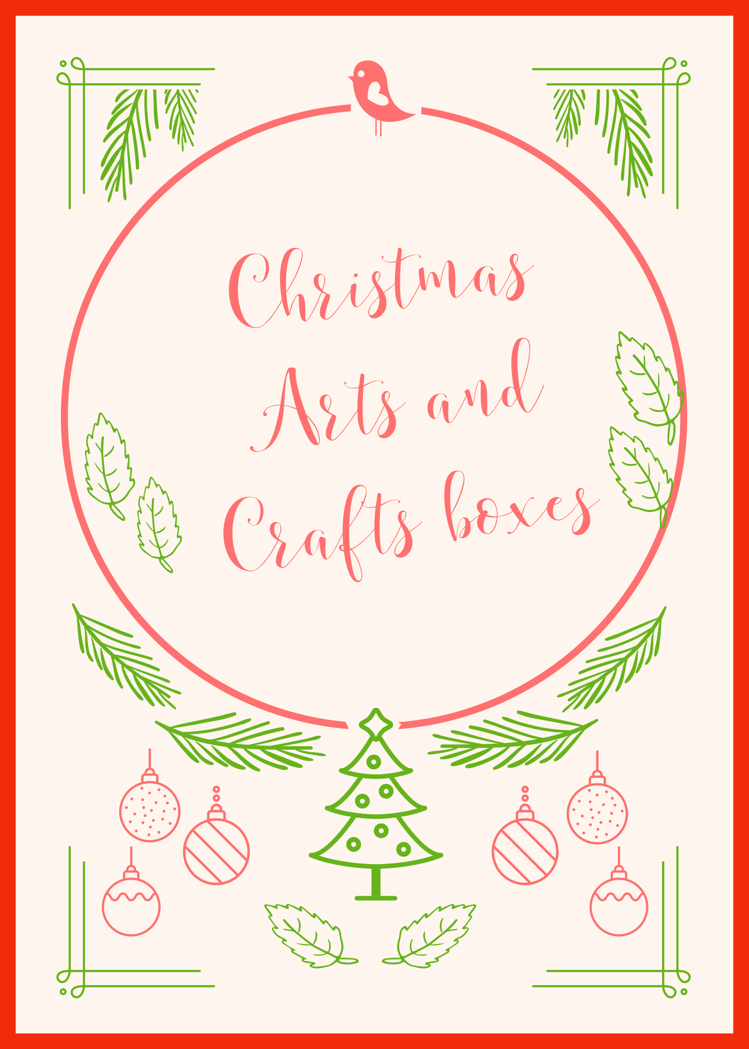 Perfect Christmas Art And Craft Boxes For Kids